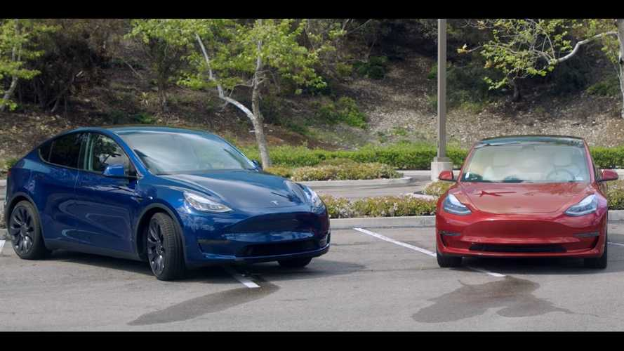 Tesla Model Y Vs Model 3 Compared In Convenient Infographic