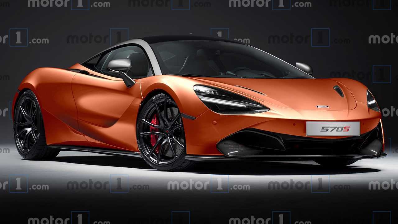 McLaren 570S Successor