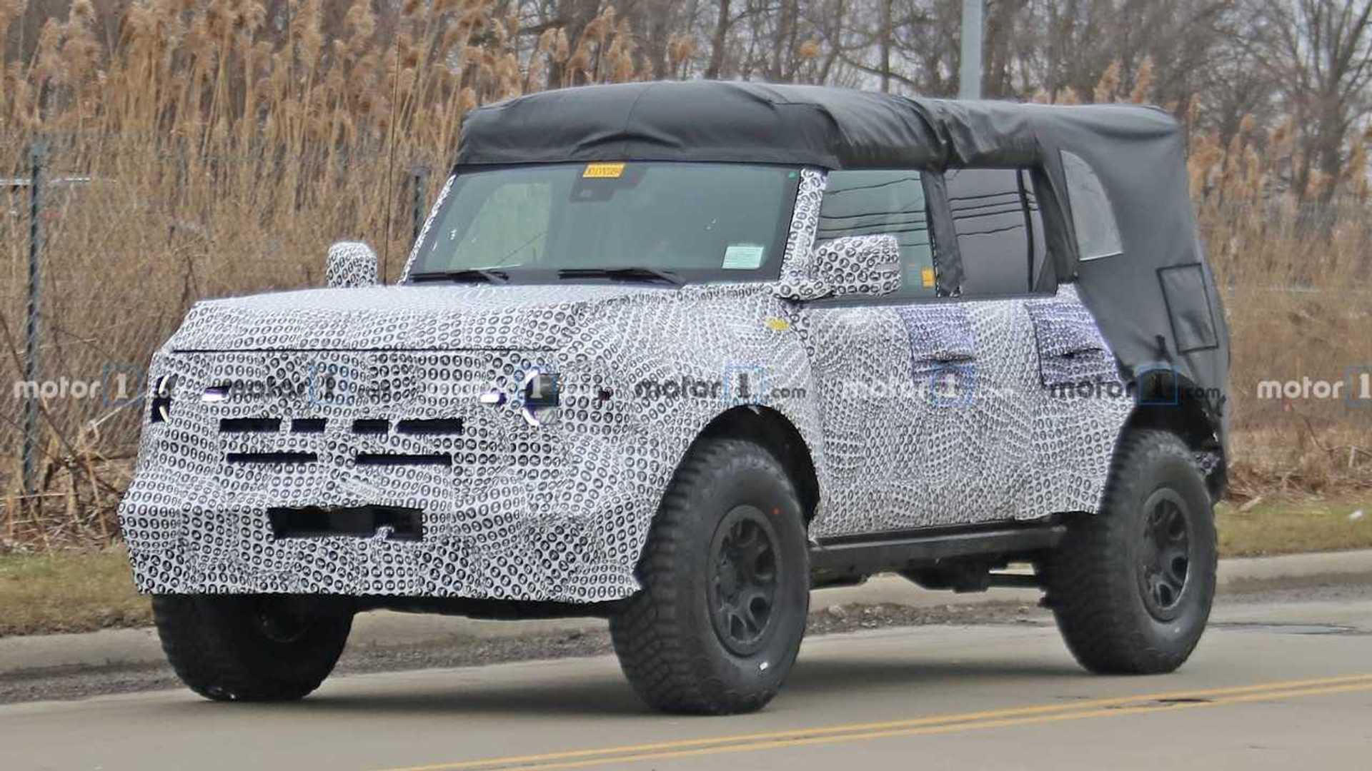 2020 - [Ford] Bronco VI - Page 2 2021-ford-bronco-spy-photos