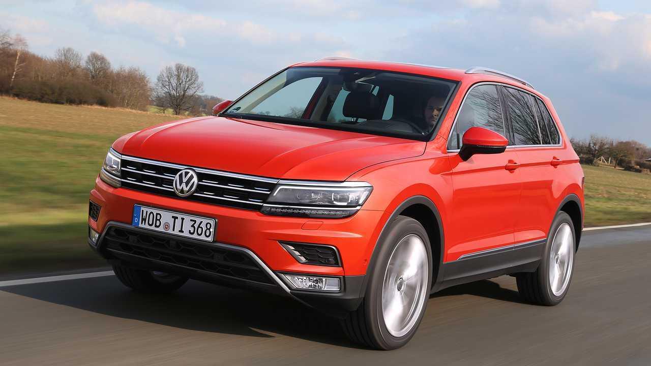 Platz 2: VW Tiguan