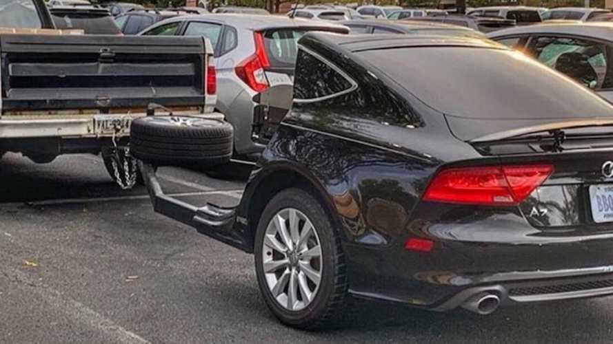 Ennek az Audi A7-esnek a rácsait az új BMW-k is megirigyelnék