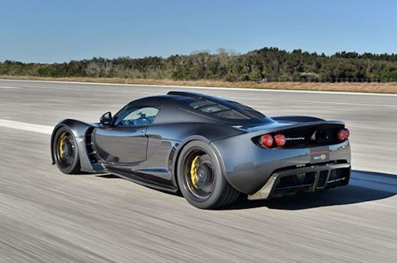 Hennessey Venom GT - New World Speed Record