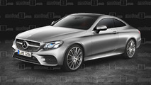 Mercedes E Serisi coupe tasarım yorumu