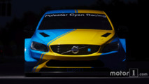 Volvo S60 Polestar TC1 art car