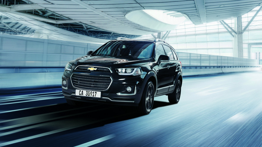 Chevrolet Captiva Perfect Black is limited to 15 units in Japan