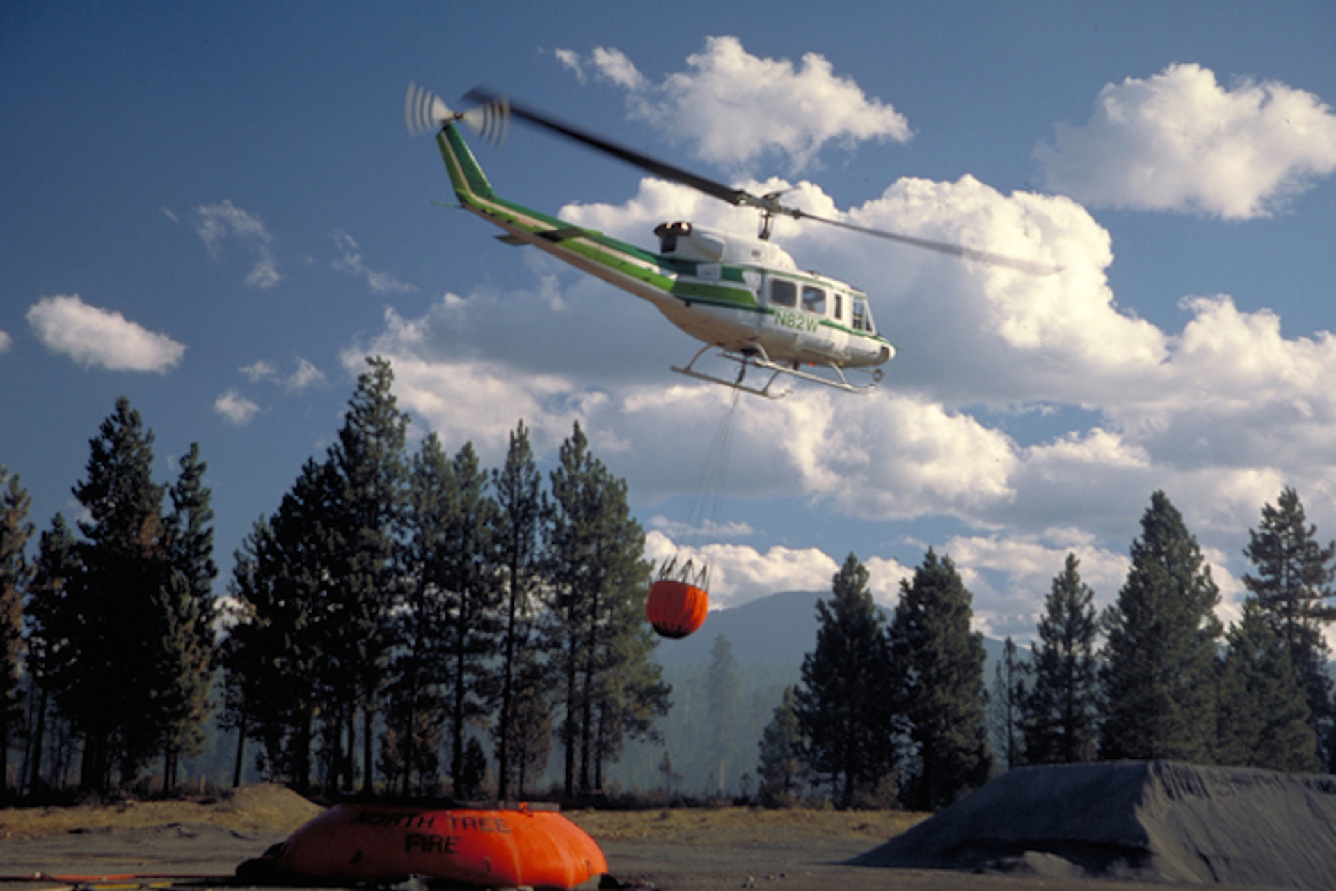 Dousing Flames from the Sky: The Story of Aerial Firefighters