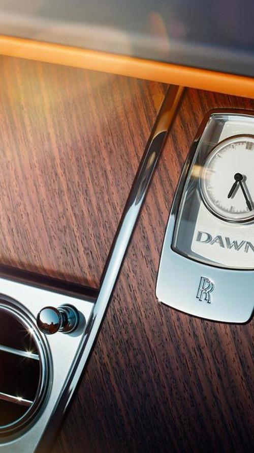 Rolls-Royce Dawn teased ahead of Frankfurt