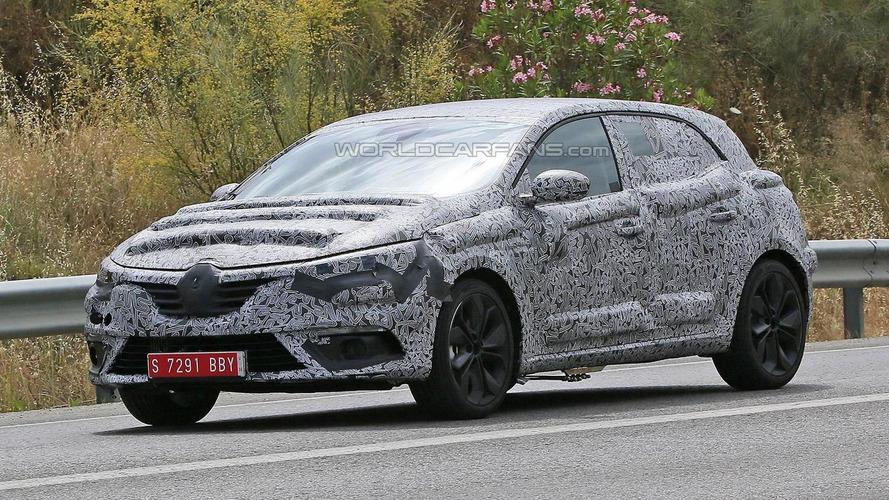 Heavily camouflaged 2016 Renault Megane hatchback spied ahead of Frankfurt Motor Show launch
