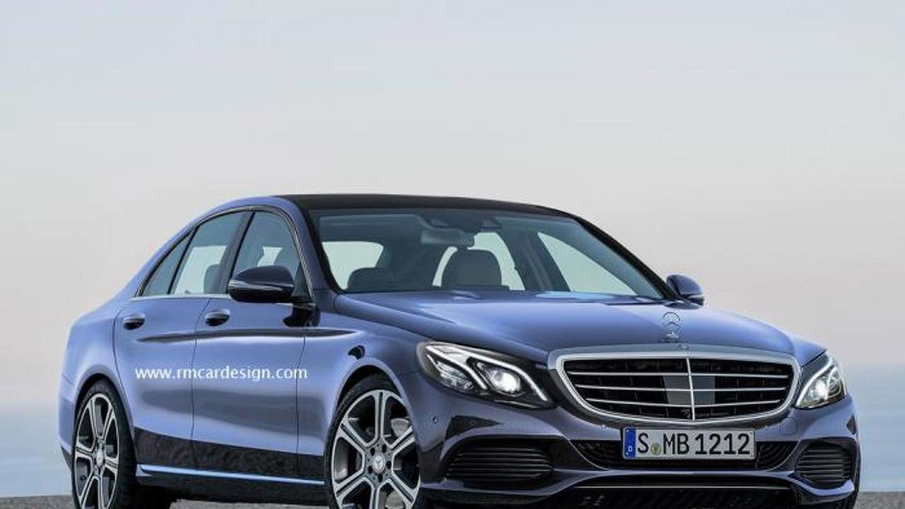 2016 Mercedes-Benz E-Class rendering / RM Design
