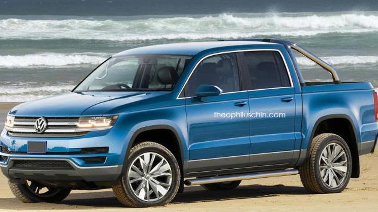 Volkswagen Amarok rendering / Theophilus Chin