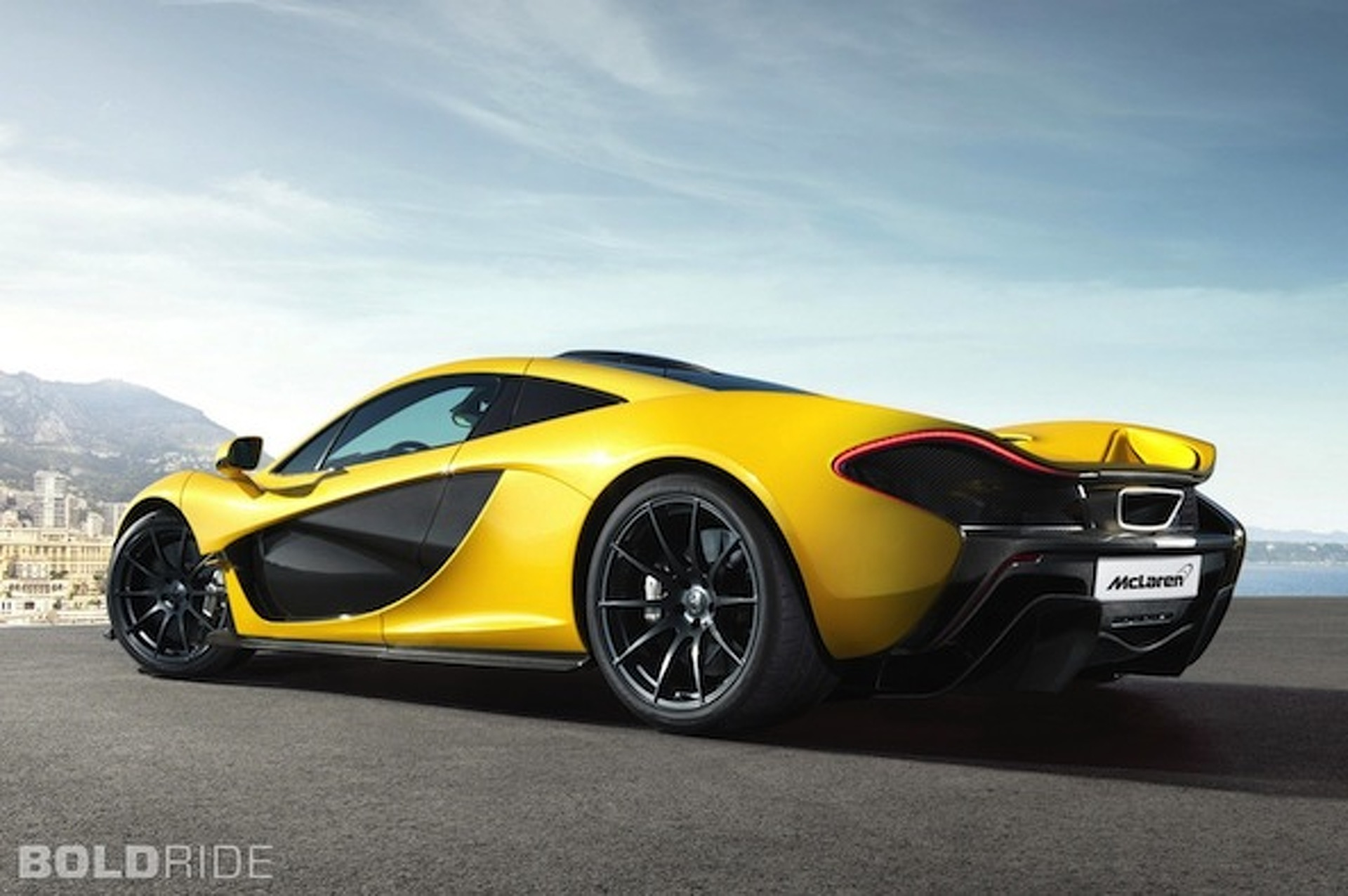 Production-Ready McLaren P1: 218MPH, $1.15M, Yellow