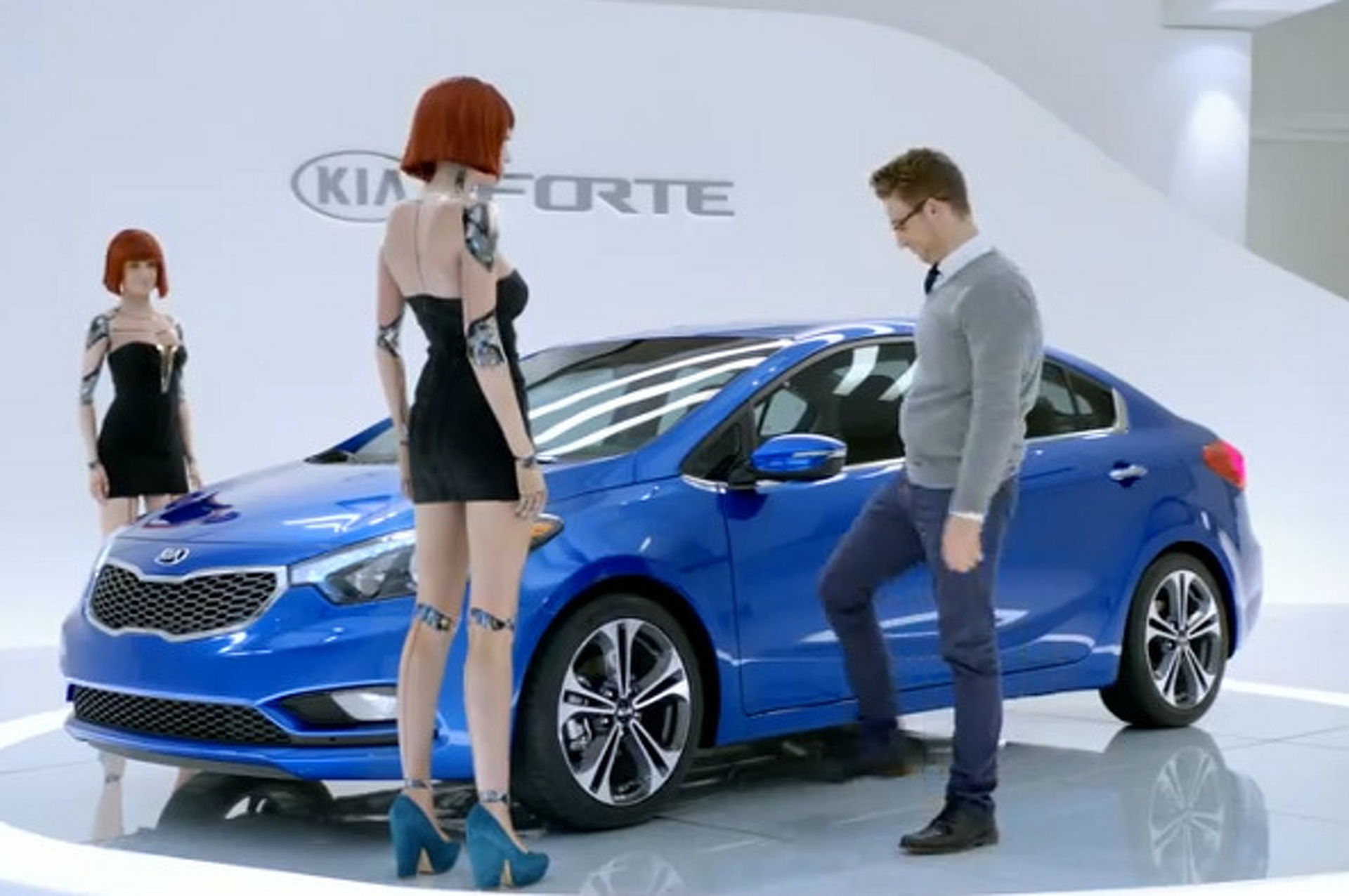 Holy Crap, This Kia Super Bowl Ad is F&@king Weird!
