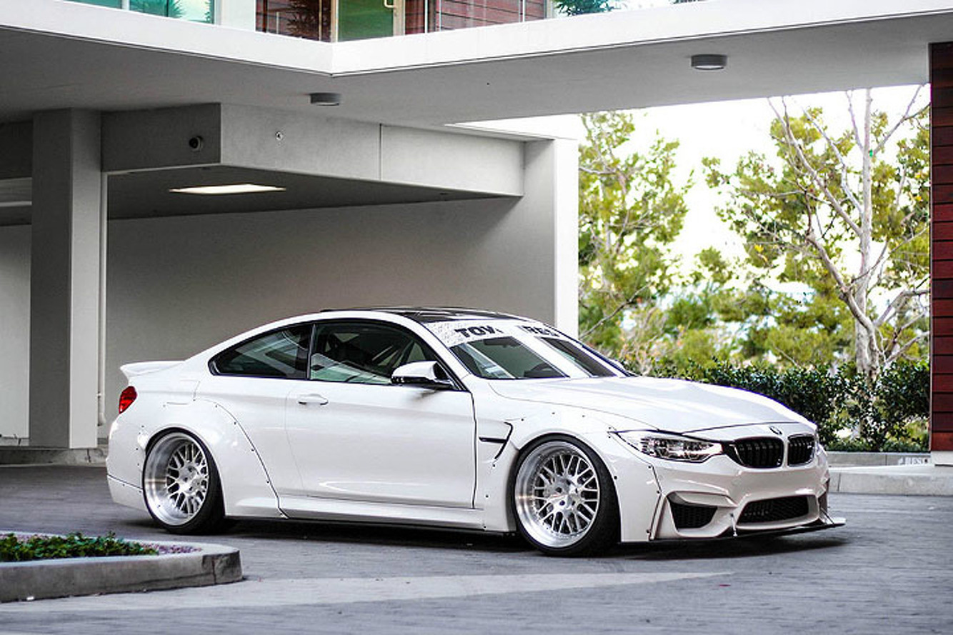 Liberty Walk Mods Make This BMW M4 a Mean Machine