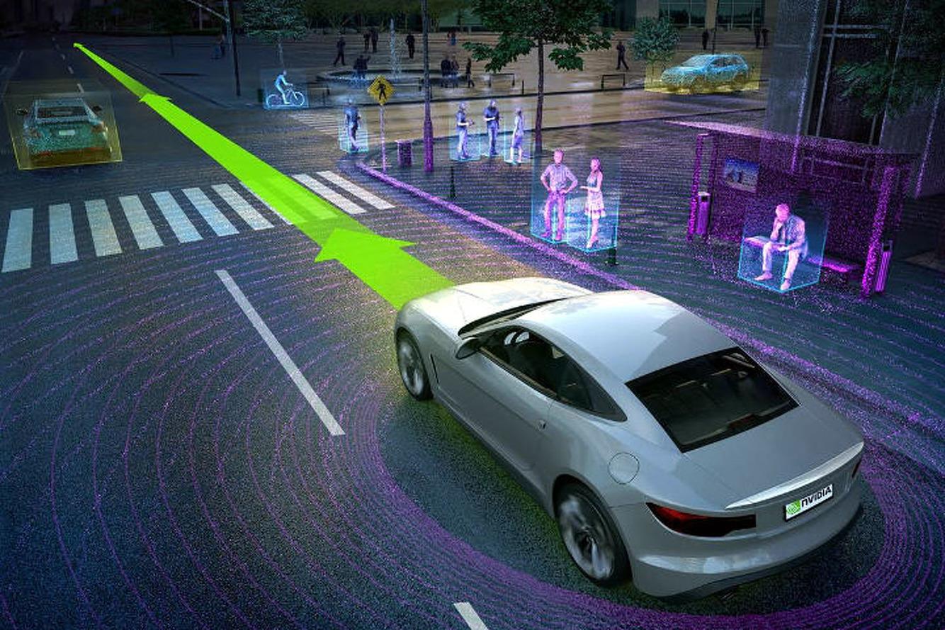 Nvidia - Leurs voitures autonomes vont désormais rouler en Californie