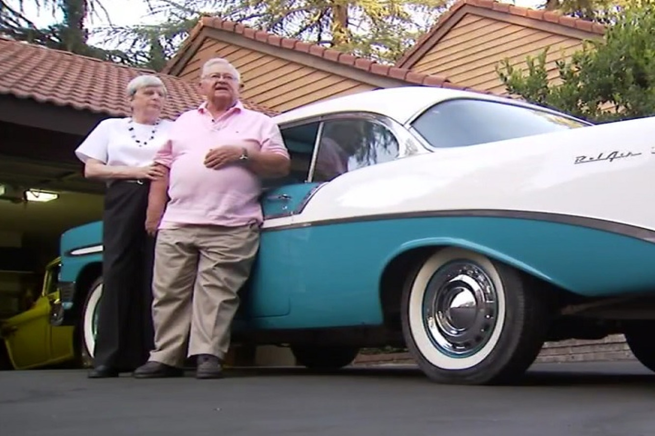 Watch a Veteran Happily Reunited with His Stolen Classic Cars