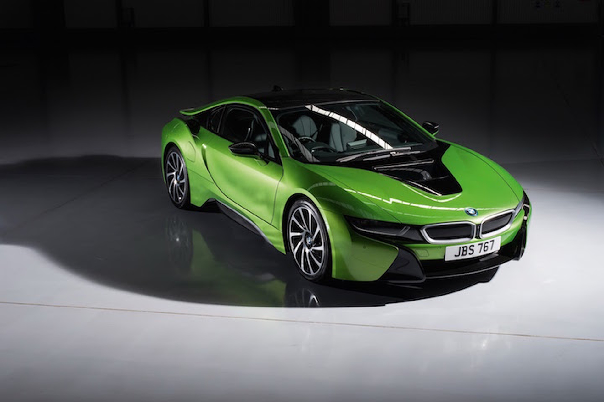 Drive The Rainbow With New Bmw I8 Colors Purple Yellow And Green