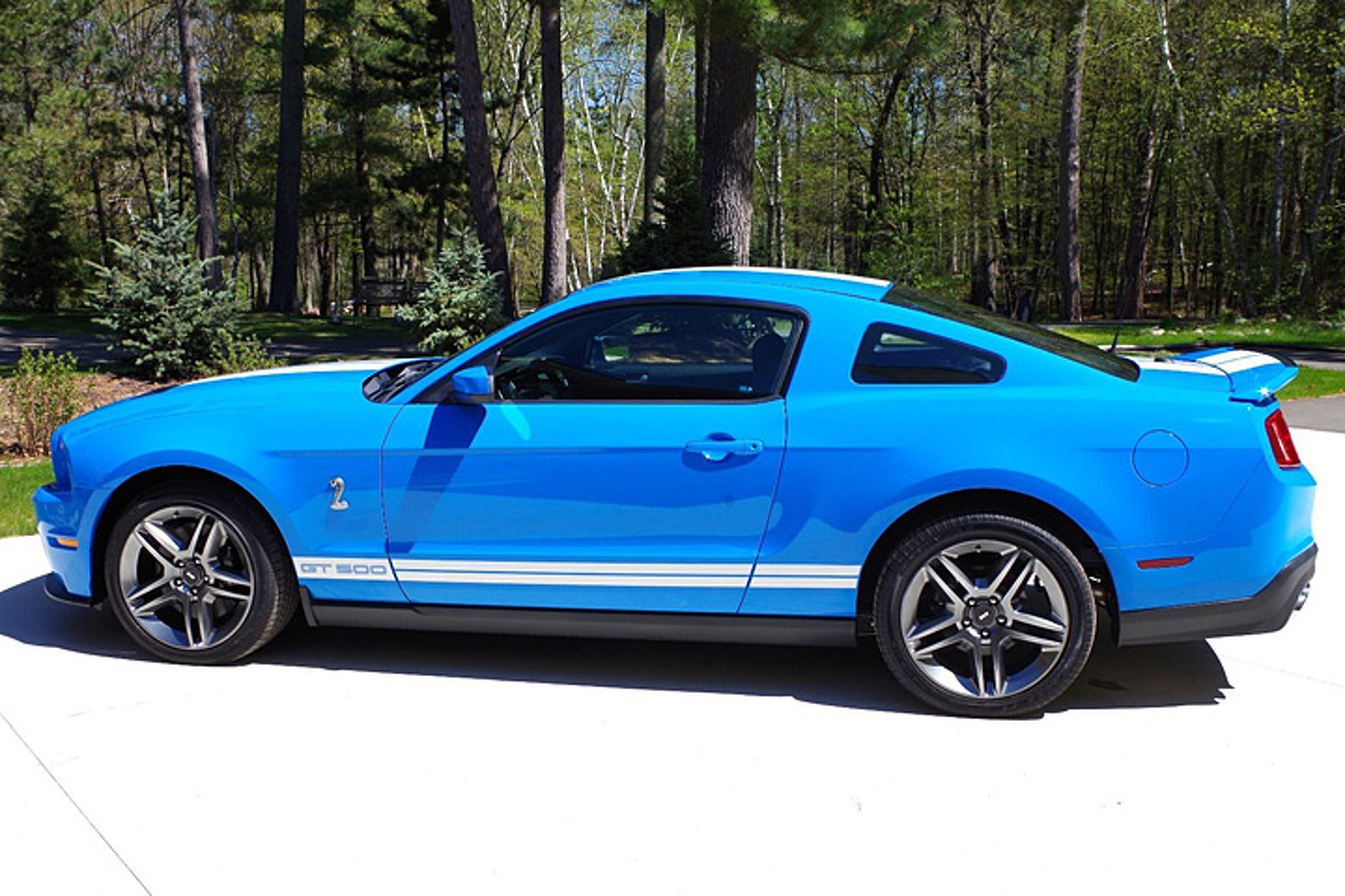 For sale this 2010 mustang shelby gt500 has driven just 21 miles