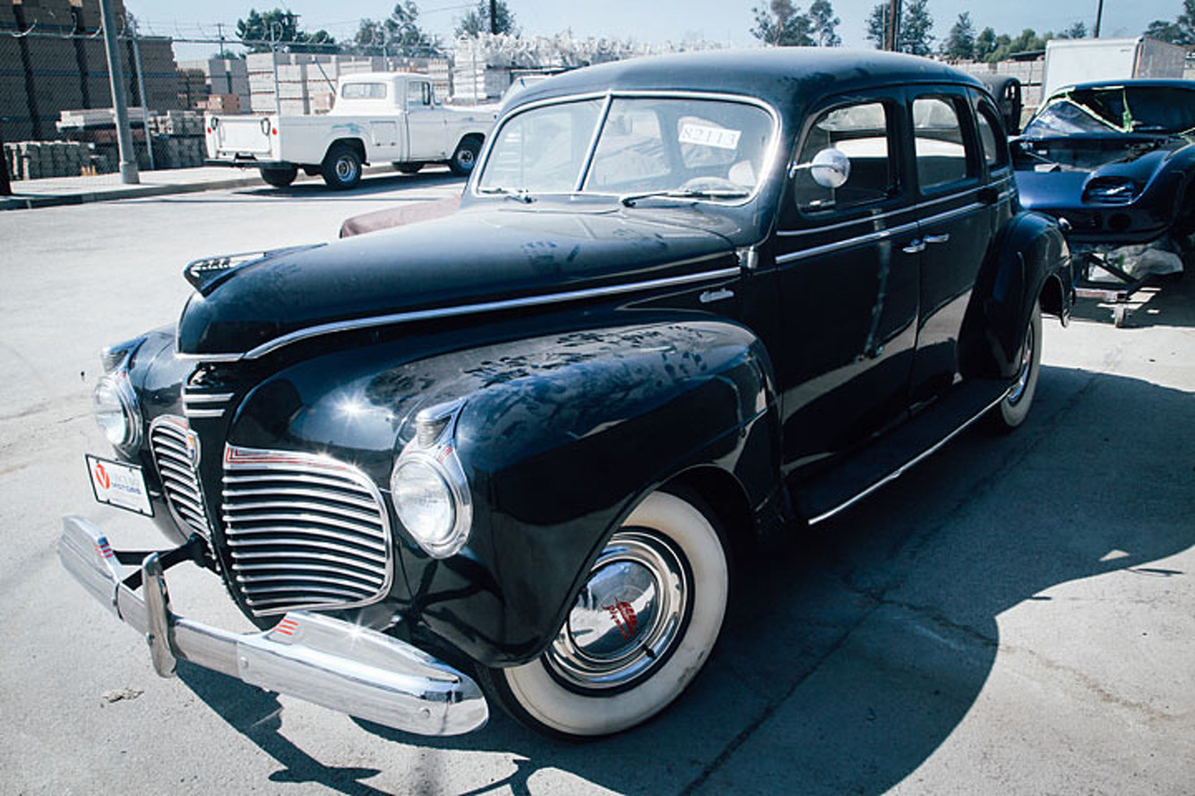 Bodie Stroud is About to Give This '41 Plymouth a Carl's Jr. Makeover