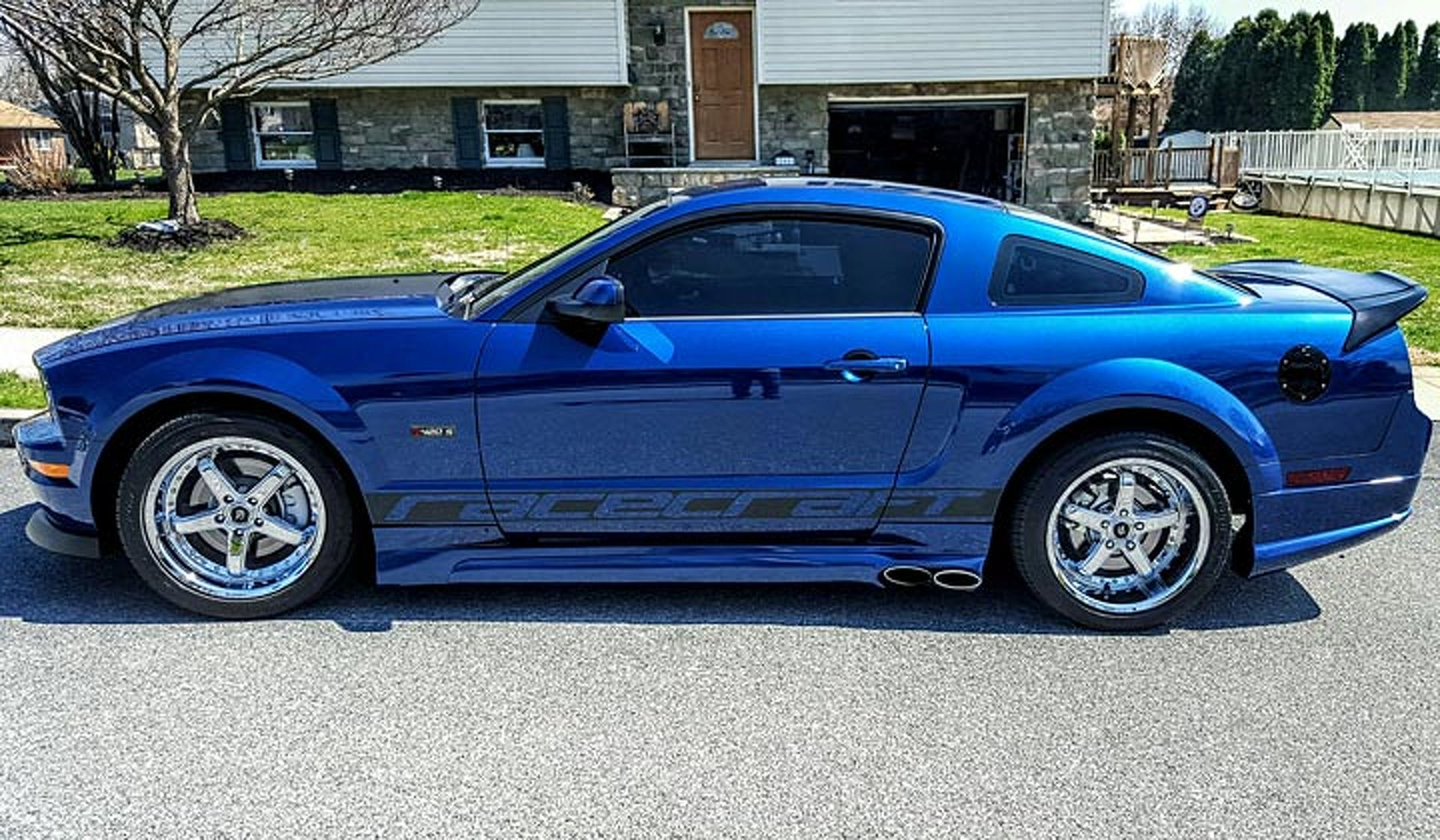 This 08 saleen ford mustang is truly a 1 of 1 your ride