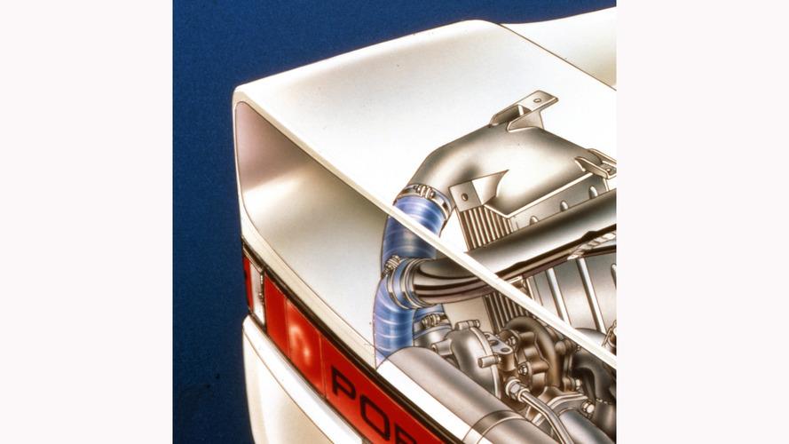 Porsche 959 Cutaway by David Kimble
