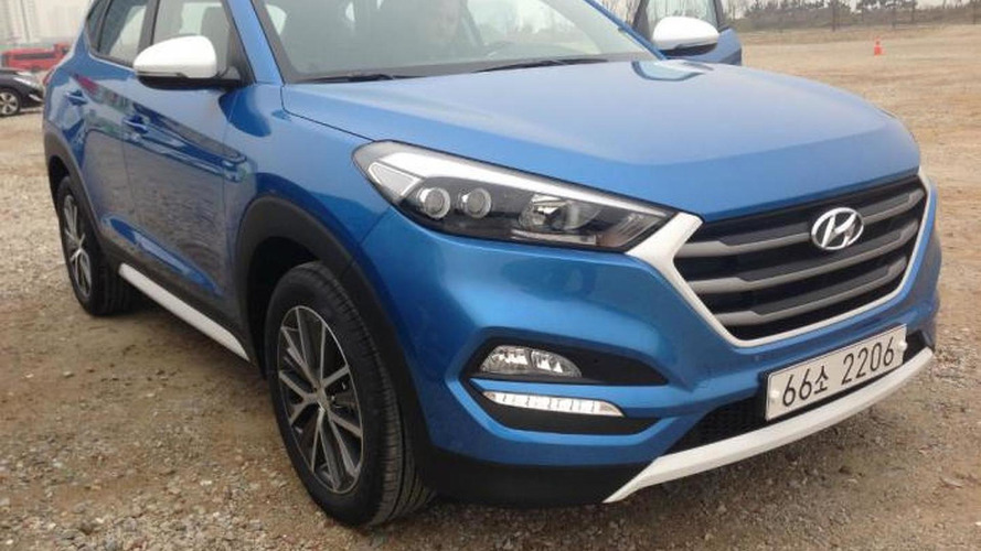 New Hyundai Tucson spotted in the flesh for the first time