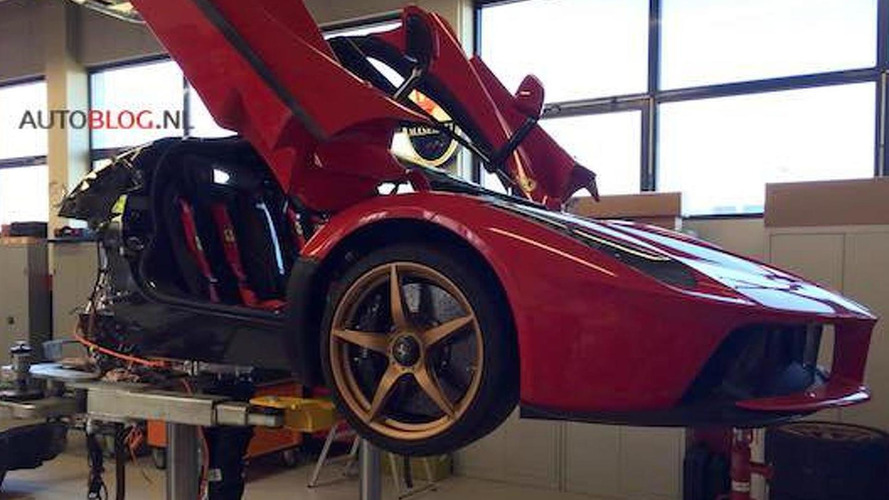 Is Ferrari recalling all 499 LaFerrari units due to fire risk?