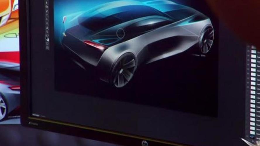 Futuristic Camaro & Corvette make a surprise appearance at GM design studio  [video]