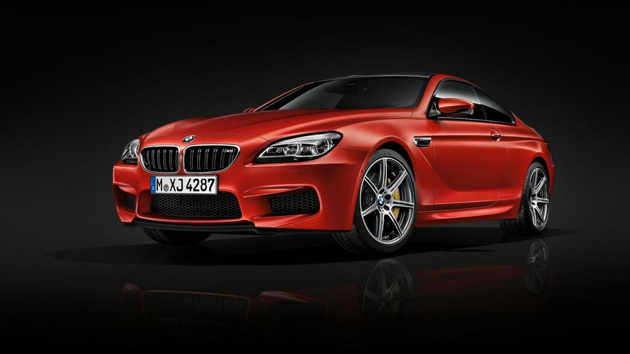 BMW M6 Competition Edition announced for Frankfurt