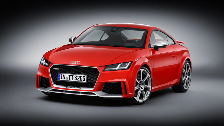 La production de la nouvelle Audi TT RS