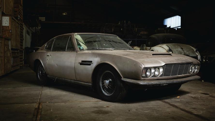 Island barn find Aston Martin DBS to go under the hammer