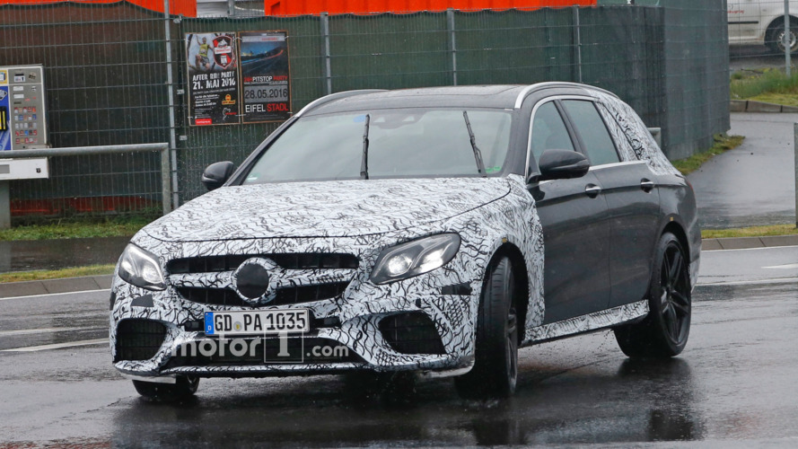 Mercedes-AMG E63 Wagon spy photos