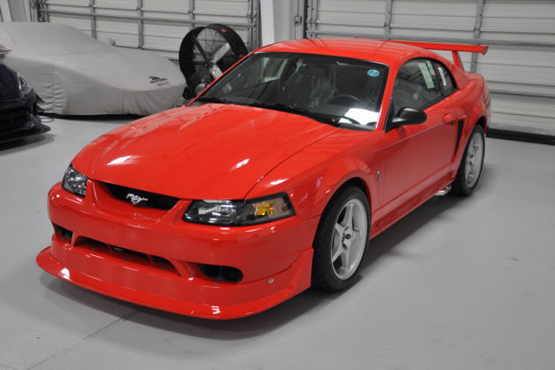 This 85 mile ford mustang cobra r is as close to new as it gets