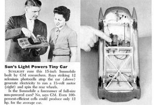 Solar Cars Celebrate 60 Years