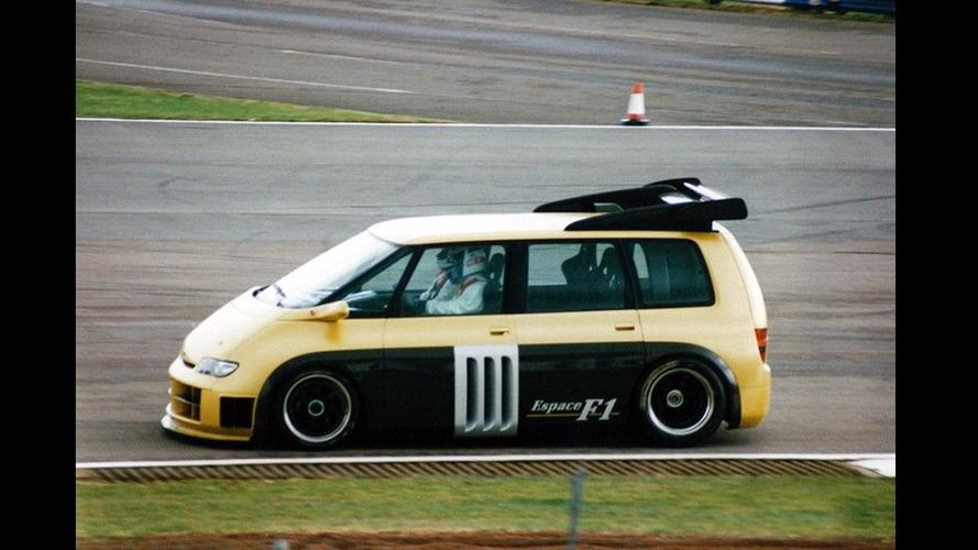 Prototipos olvidados: Renault Espace F1 Concept 1994