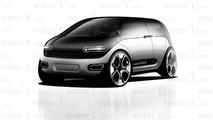 Motor1 Apple Car Render