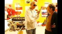 Paul Newman in visita alla Ferrari