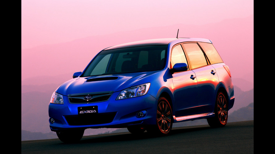 Subaru Exiga sbarca in Giappone