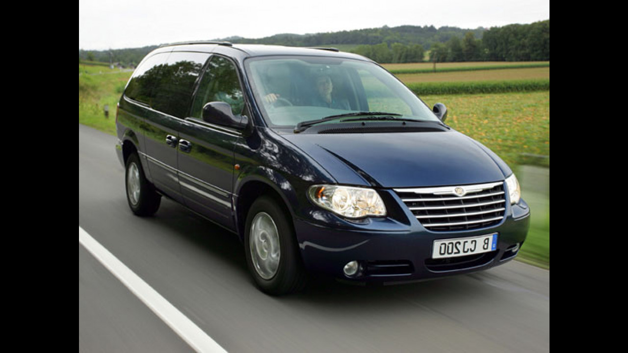 Chrysler Grand Voyager Stow'n go