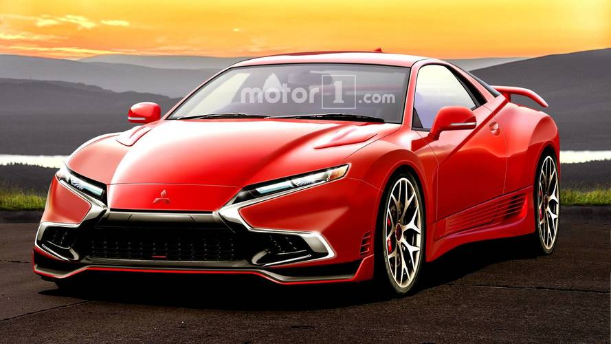 Mitsubishi 3000GT Rendered As If It Were Alive Today