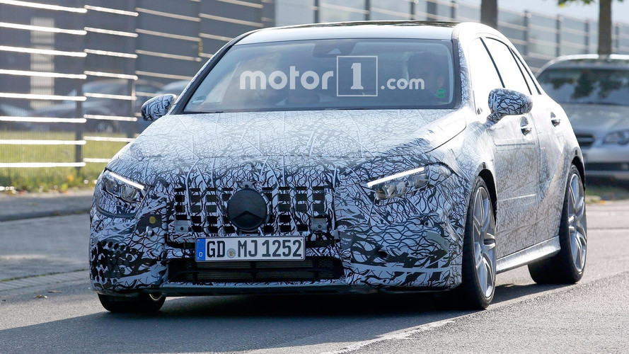 Mercedes-AMG A45 Spy Photos