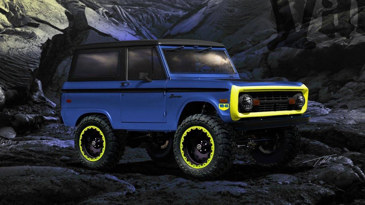 WD-40 Ford Bronco SEMA