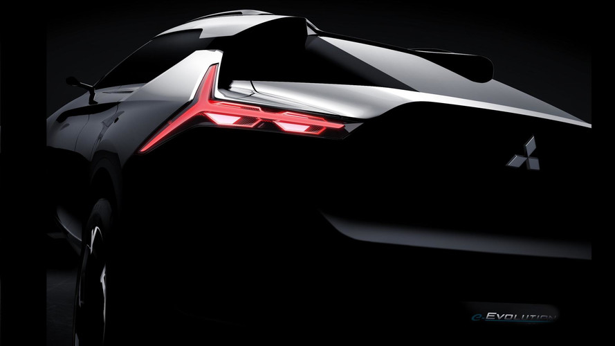 Mitsubishi e-Evolution Flagship Concept Teased