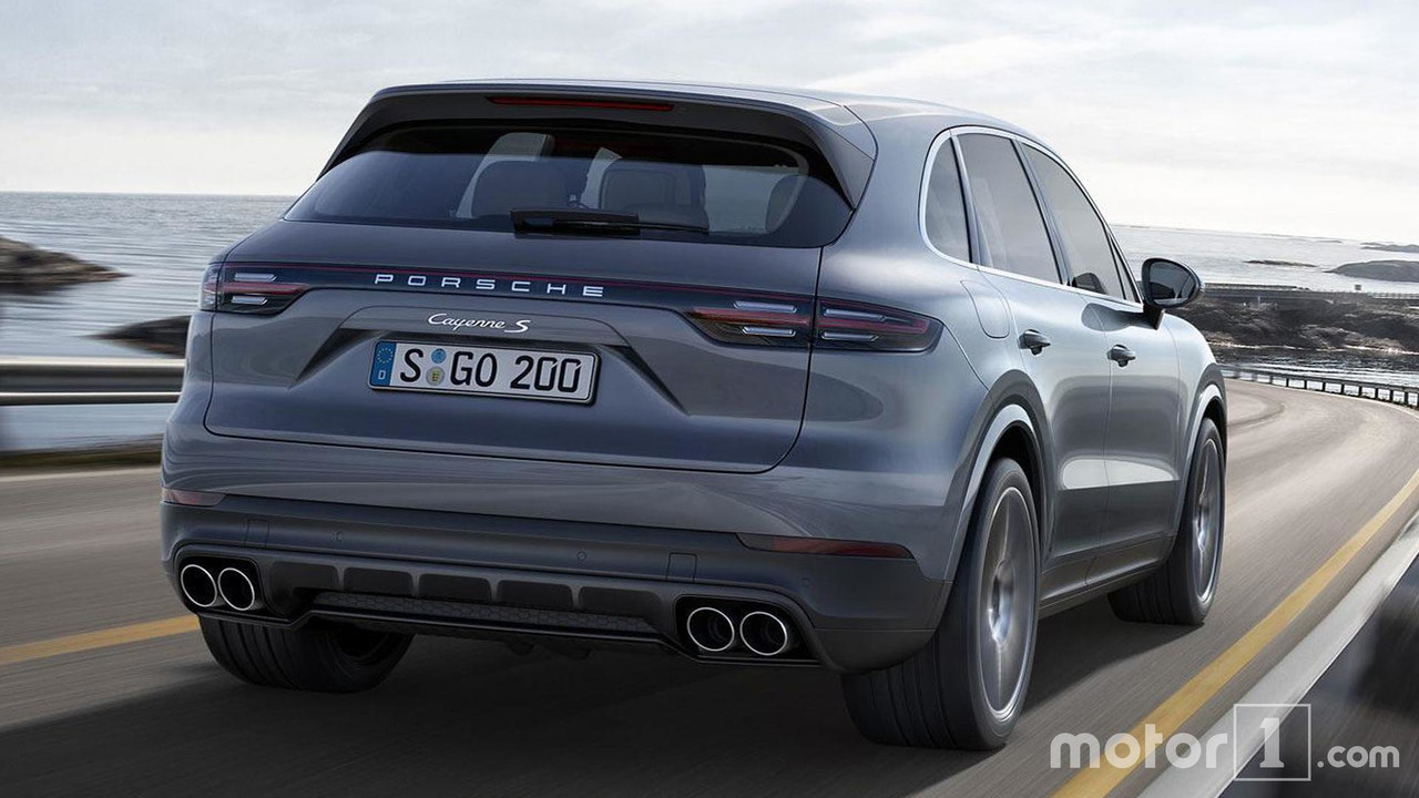 2019 Porsche Cayenne See The Changes Side,By,Side