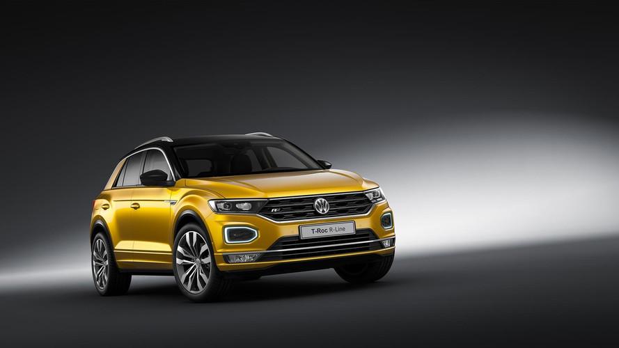 Volkswagen T-Roc 2018: nuevo acabado deportivo R-Line en Frankfurt