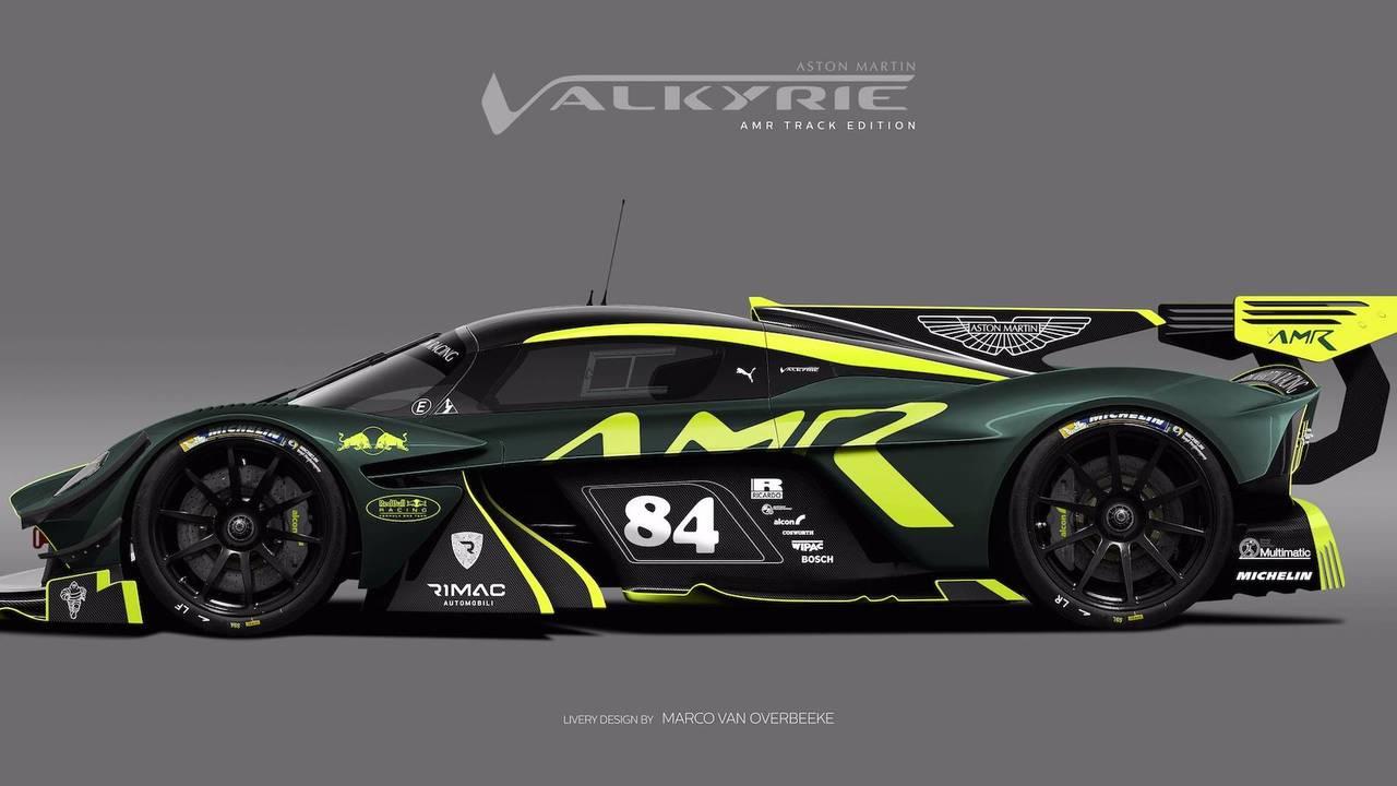 Aston Martin Valkyrie Livery