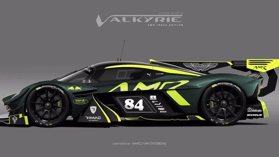 Aston Martin Valkyrie giydirmeler
