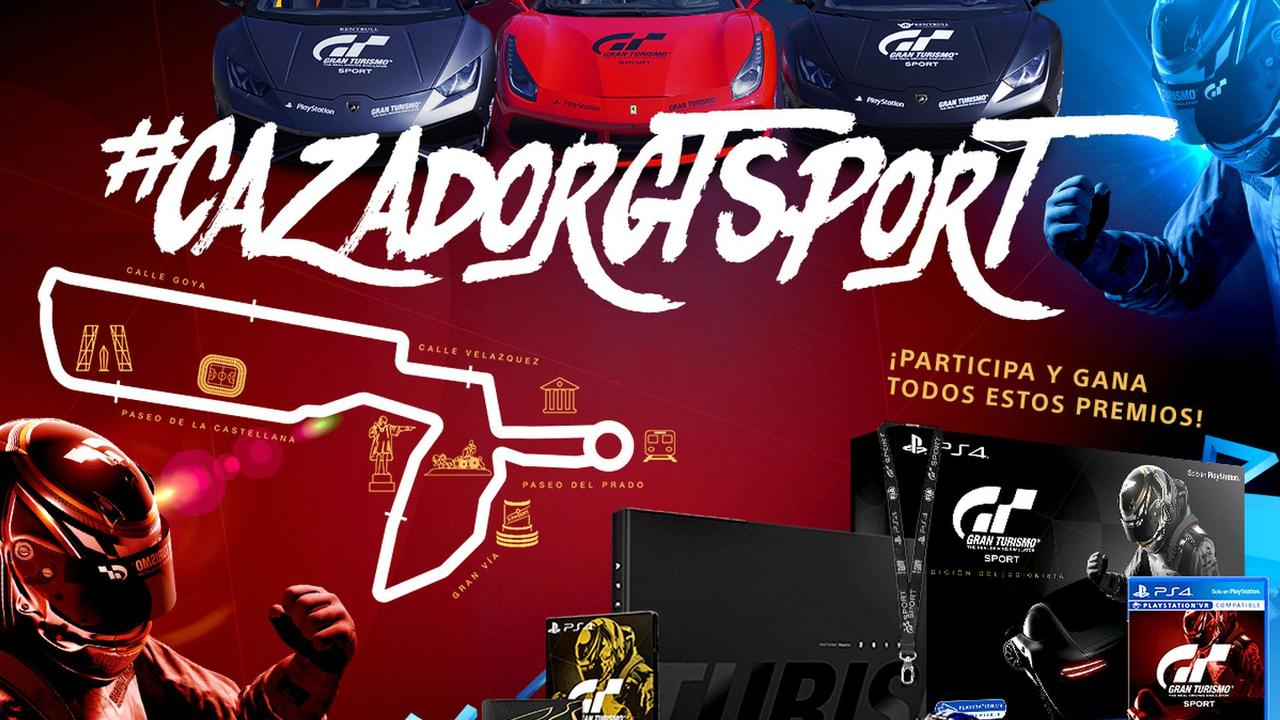 Premios del concurso #CazadorGTSport