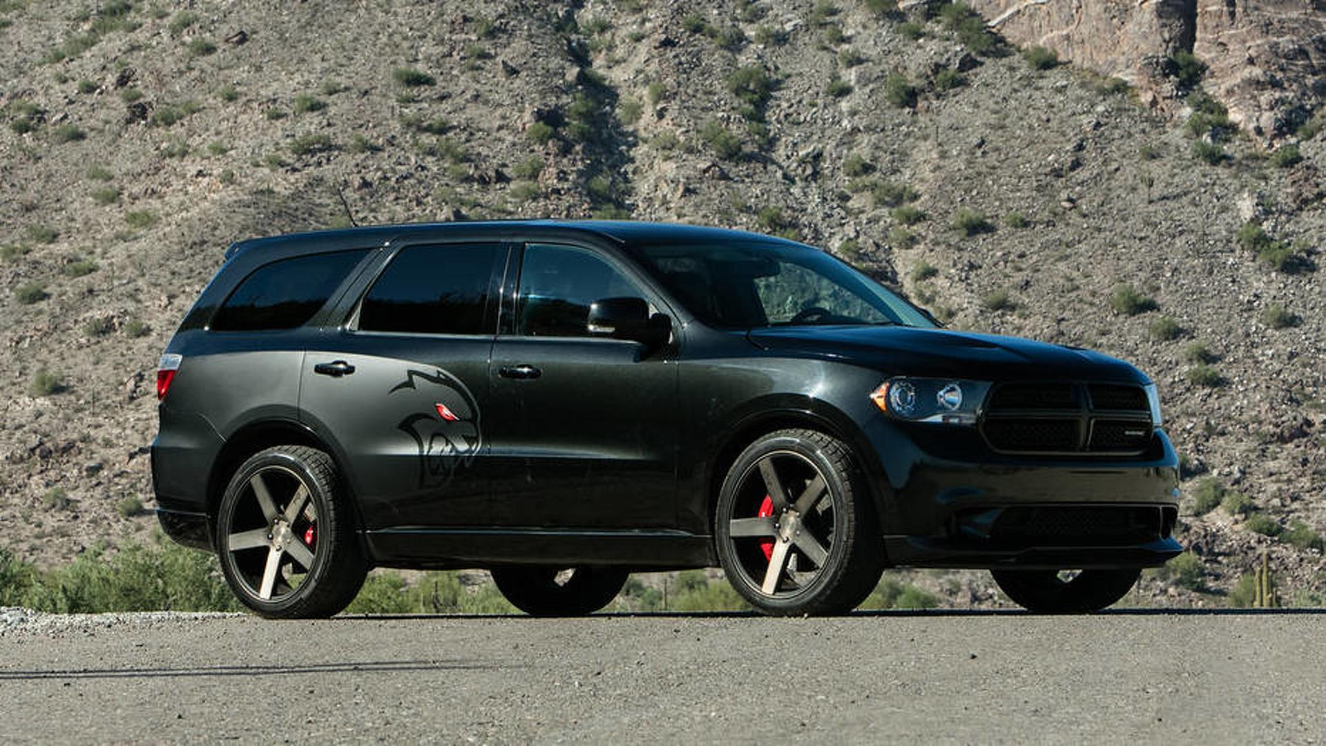 700 Hp Hellcat Powered Dodge Durango Is Real And It S Awesome