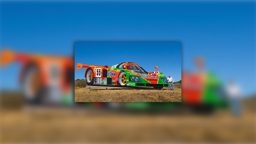 Artist Creates Giant Mazda 787B Mural At Mazda Raceway