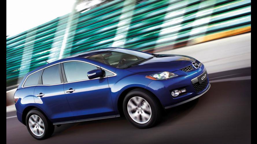 La Mazda CX-7 si prenota online